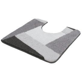 image-Parkhur Pedestal Mat Ebern Designs Colour: Slate Grey