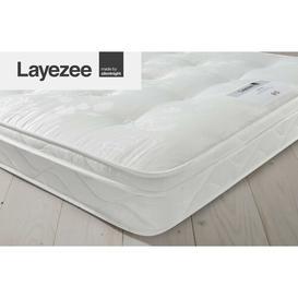 image-Layezee Open Coil Ortho Mattress Silentnight Size: Kingsize (5')
