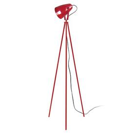 image-Linda 155cm Tripod Floor Lamp Mercury Row Finish: Red
