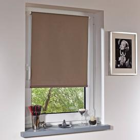 image-Blackout Roller Blind Zipcode Design Size: 210cm L x 80cm W, Colour: Rock