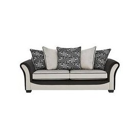 image-Atmos Fabric 3 Seater Scatter Back Sofa