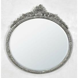image-Oval Metal Framed Accent Mirror Astoria Grand