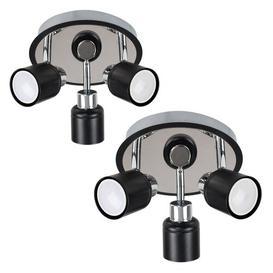 image-Laurel 3-Light Ceiling Spotlight