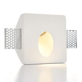 image-Zeke square led trimless plaster recessed wall light - 86797.