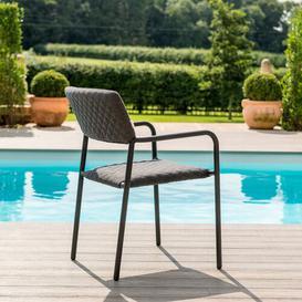 image-Groveport 8 Seater Dining Set Dakota Fields Colour (Chair Frame): Charcoal