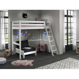 image-Deangelo European Single High Sleeper Bed