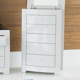 image-Beatty 5 Drawer Chest of Drawers Ebern Designs