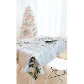 image-Christmas Tablecloth Saint Clair Paris Size: 145cm W x 180cm L