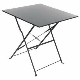 image-Nifelheim Folding Steel Bistro Table Sol 72 Outdoor Colour: Graphite
