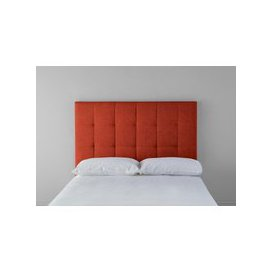 image-Hopper 4'6 Double Headboard in Marmalade Orange""