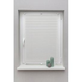 image-Blackout Pleated Blind Symple Stuff Size: 130 cm L x 40 cm W, Finish: White