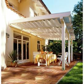 image-Newagen Rectangular Shade Sail Sol 72 Outdoor Colour: Cream, Size: 330cm x 96cm