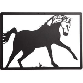 image-Horse Geometric Metal Wall Décor