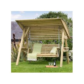 image-Miami Garden Swing With Canopy