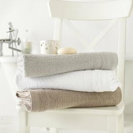 image-Egyptian Quality Cotton Bath Sheet Towel Bale Great Knot Colour: Beige