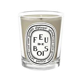image-Diptyque Feu de Bois Scented Mini Candle, 70g