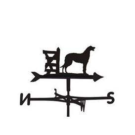 image-Weathervane in Deerhound Dog Design - Large (Traditional)