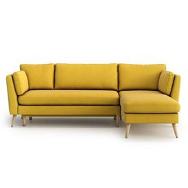 image-Eucptus Universal Reversible Sleeper Corner Sofa Bed Mikado Living Upholstery Colour: Yellow