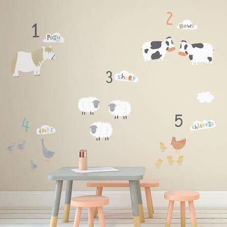 image-Little Farm Wall Stickers NA