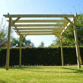 image-Randi Manufactured Wood Pergola Sol 72 Outdoor