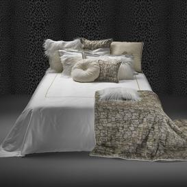 image-Roberto Cavalli - New Gold Bed Set - Super King - White