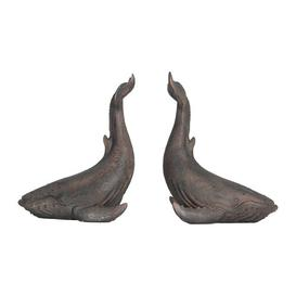 image-Whale Bookends Blue Elephant