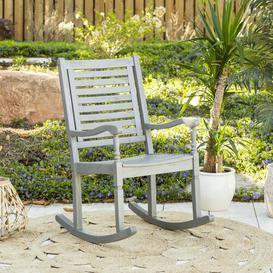 image-Jarrard Rocking Chair Ophelia & Co. Finish: Grey Wash