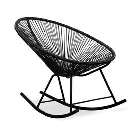 image-Loucks Rocking Chair Sol 72 Outdoor Finish: Black