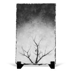 image-Bird House in a Tree Decorative Slates