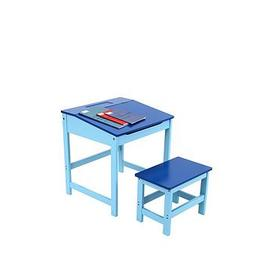 image-Premier Housewares Kids Desk And Stool Set- Blue