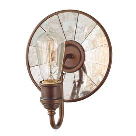 image-Elstead FE/URBANRWL/WB2 Urban Renewal 1 Light Wall Light In Astral Bronze