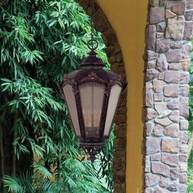 image-Cloquet 4 Light Outdoor Hanging Lantern Astoria Grand