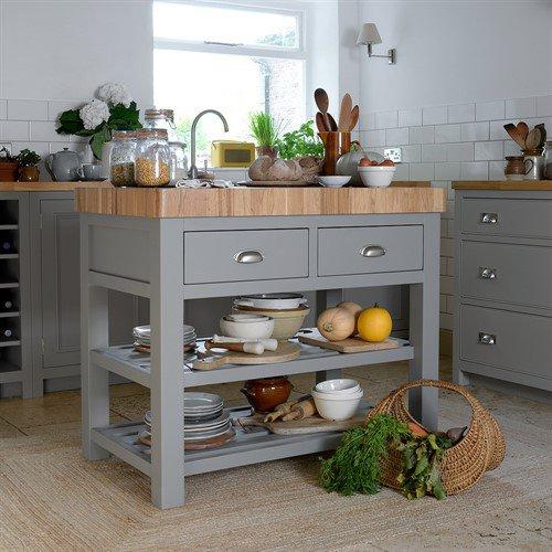 image-Sussex Grey Kitchen Island