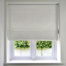 image-Hamleton Natural Textured Plain Roman Blinds, Standard Lining / 130cm x 200cm / Natural