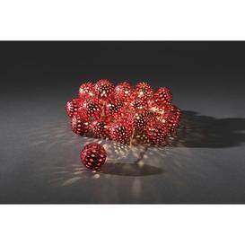 image-24 LED String Lights Konstsmide Colour: Red