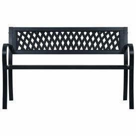 image-Rishaan Steel Bench Sol 72 Outdoor