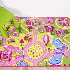image-Kids Funfair Printed Rug