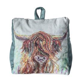 image-Stallworth Highland Cow Fabric Floor Door Stop