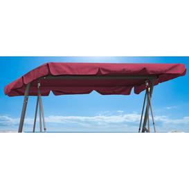 image-Porch Swing Seat Canopy Quick-Star Canopy Colour: Red
