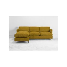 image-Justin Left Hand Chaise Sofa Bed in Summer Buttercup
