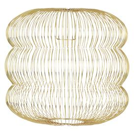 image-Jorge Brass Easyfit Ceiling Shade, Brass