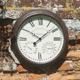 image-Bickerton 15' Outdoor Clock & Thermometer