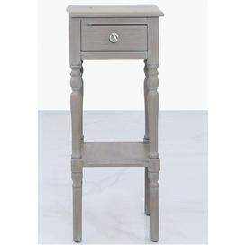 image-Driffield Taupe Telephone Table