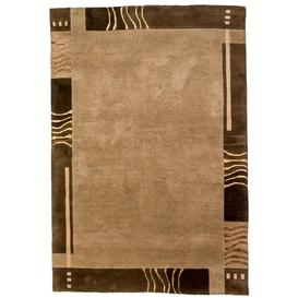 image-Glazer Hand Tufted Brown Outdoor Rug Union Rustic
