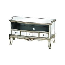 image-Argente Mirrored Television Cabinet