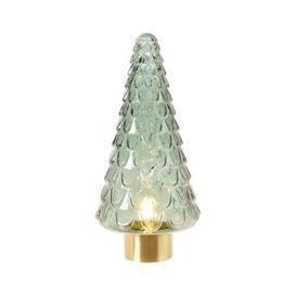 image-Lumineo LED Glass Indoor 34cm Christmas Tree
