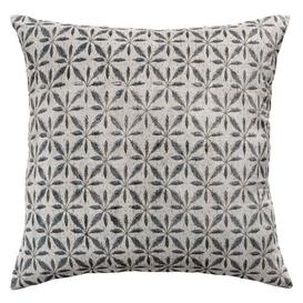 image-Arkansas Cotton Cushion Cover Ebern Designs Colour: Craie, Size: 65 x 65cm