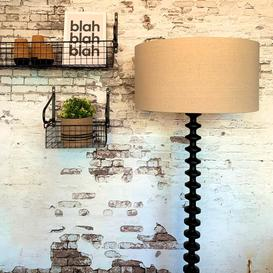 image-Black Shaped Floor Lamp