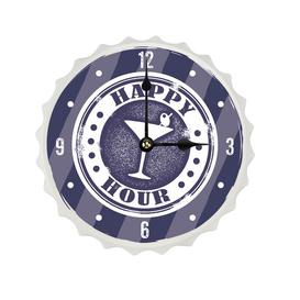 image-Chaparosa Wall Clock Happy Larry Size: 20cm H x 20cm W x 2.5cm D