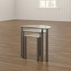 image-Corona 3 Piece Nest of Tables Metro Lane
